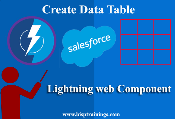 Data Table in salesforce lwc